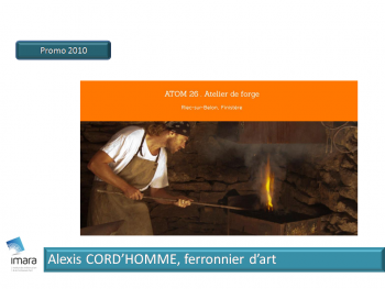 Alexis Cord'Homme, Ferronnier d'art