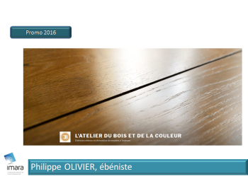 Philippe Olivier, Ebeniste