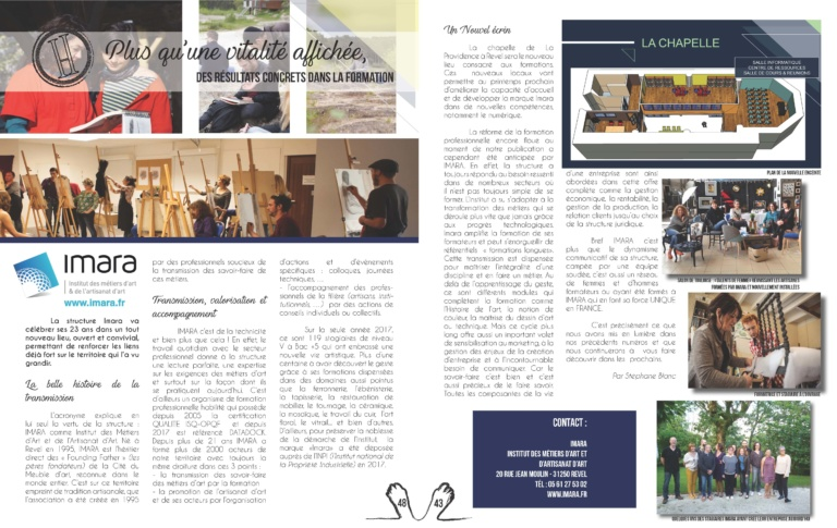 magazine Hedoniste juillet 2018