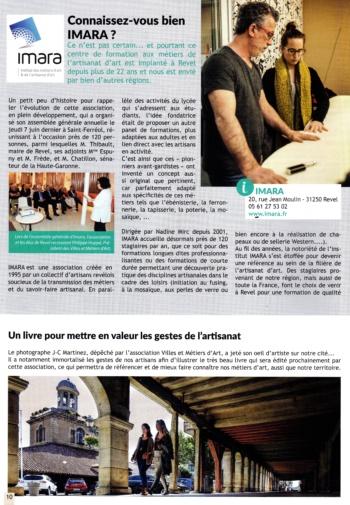 article Lettre du Maire Revel sept 2018 (1)