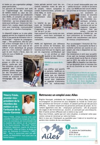 article Imara-lettre du maire sept 2018-2
