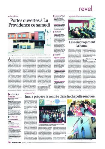 article imara-journal la dépeche janv2019