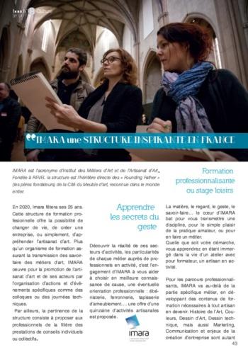 article Imara-magazine Bouche B juillet 2019-1