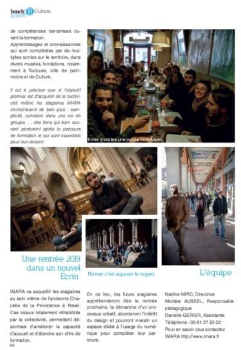 article Imara-magazine Bouche B juillet 2019-2