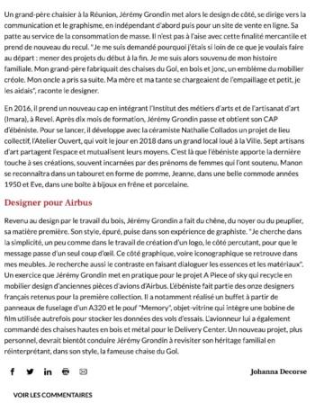 article la depeche-déc 2020-jeremy grondin-2